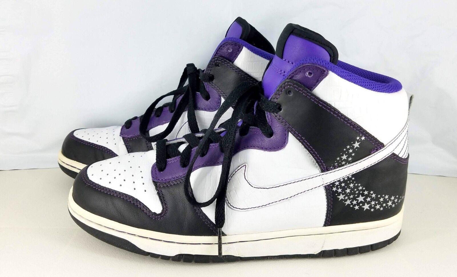 Nike Dunk Dunk Dunk High Premium Purple Quasar Moon + Stars Men's Size 8312786 011 2006 3362e8