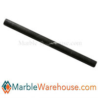 Dark Brown Marble Pencil Liner Molding Bullnose For Wall