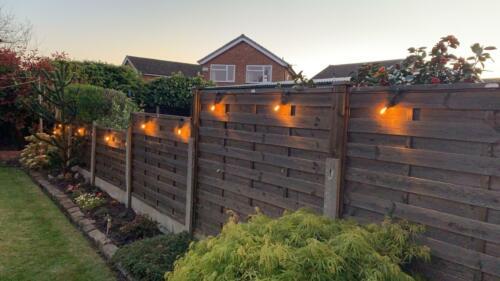 CGC 30 Ft environ 9.14 m //9.144 M Outdoor galon vintage DEL Chaîne éclairage ampoules à DEL inclus