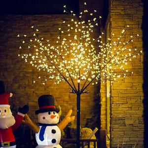 Led-blossom-tree-160-200-LED-led-Cherry-Tree-Christmas-cherry-blossom-5ft-6ft