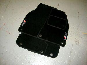 Audi-A6-C6-2004-2011-Car-Floor-Mats-S-Line-Logos-x2-Free-Colour-Choice