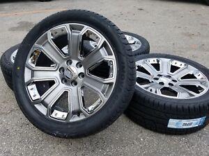 2018 Gmc Yukon Denali Sierra 1500 Chevy Silverado Tahoe Wheels Rims