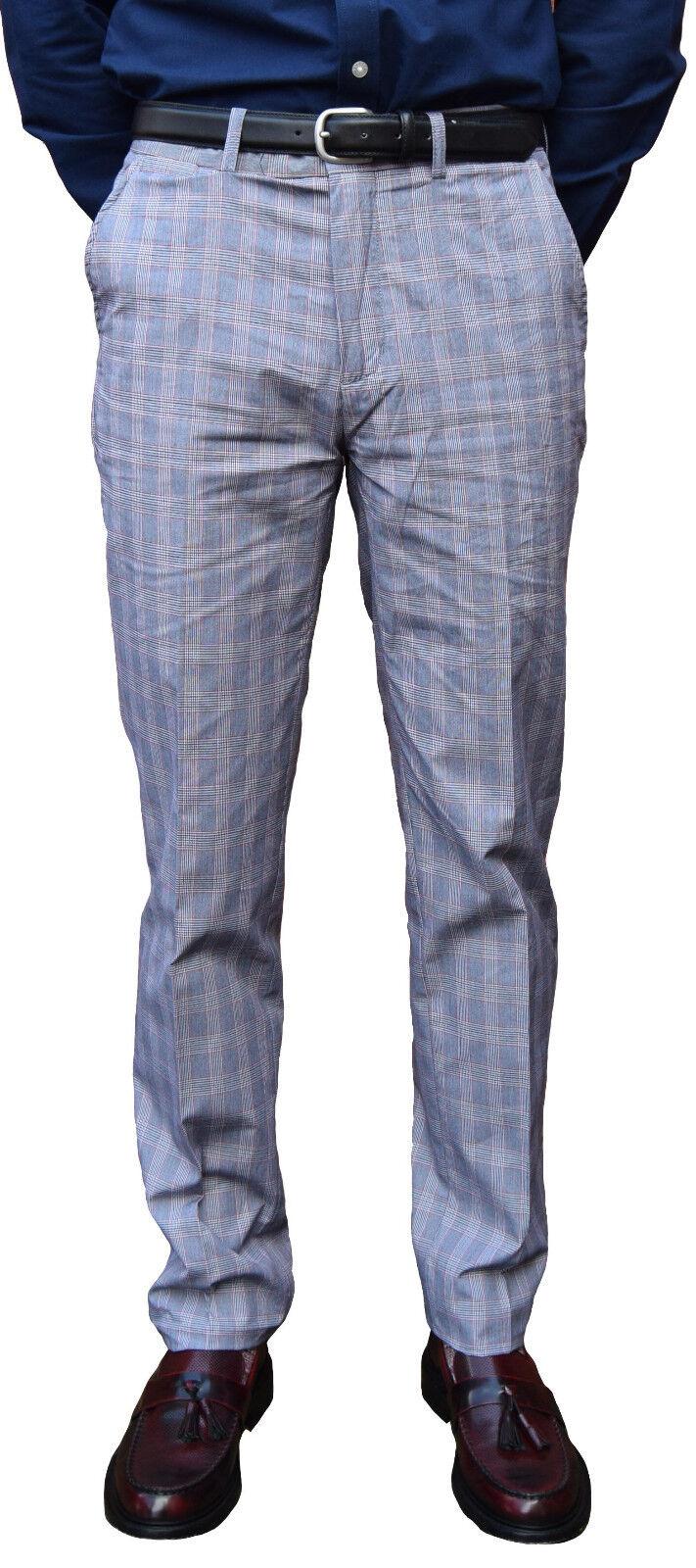 Merc Principe di Galles Check Pantaloni Mod Skinhead Abbigliamento retro SKA SOUL ANNI'60
