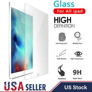 Para-Nuevo-iPad-7th-generacion-10-2-034-2019-HD-claro-Protector-de-Pantalla-de-Vidrio-Templado