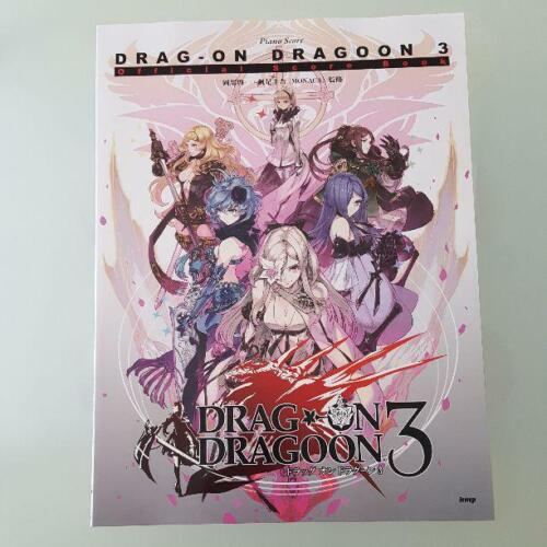 Drag-on Dragoon 3 Official Score Book Piano Solo Music Vocal Lyrics