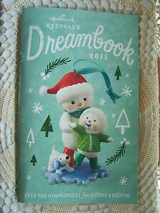 2015 HALLMARK CHRISTMAS TREE ORNAMENT DREAM BOOK CATALOG ...