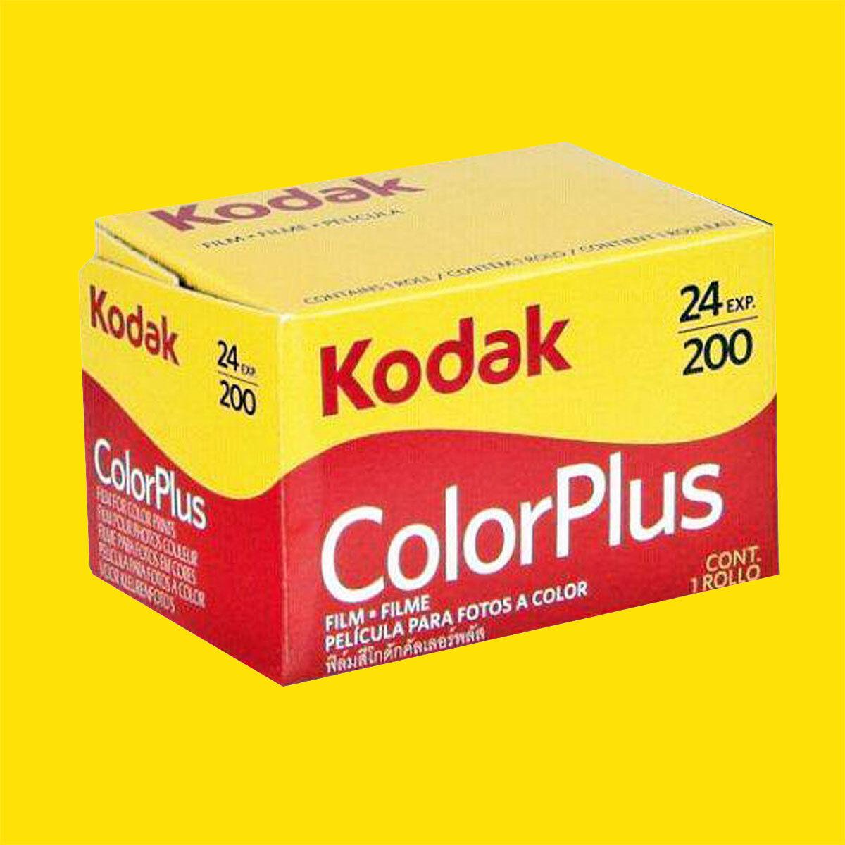 135-36 KODAK Color Plus 200 Negativ-Farbfilm 10 Stück