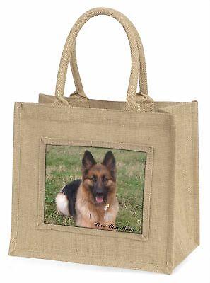 Schäferhund' Liebe, die sie Mama 'Große natürliche jute-einkaufstasche Chri ,
