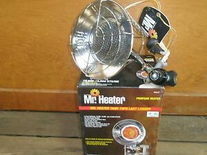 Mh15t Single Tank Top Outdoor Radiant Propane Heater 15k