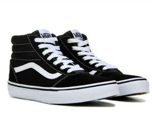 New Vans Ward Hi Boy's Skate Shoes