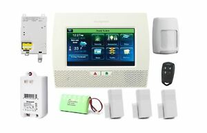 Details about Honeywell Home Security Alarm Package w/ 3GL Cellular  Communicator Camera New