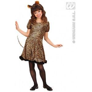 Vestito Carnevale Costume Ebay 57 Bambina Anni Leopardo 5w1zx7Rqw
