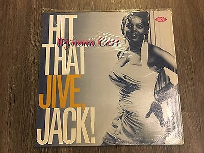 Wynona Carr ‎Hit That Jive, Jack CH 130 Music Album Vinyl Records 1985 LP 2655
