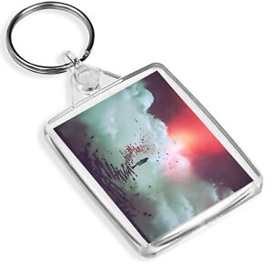 Awesome Planets Keyring Space Saturn Jupiter Moon Earth Sun Gift #8222