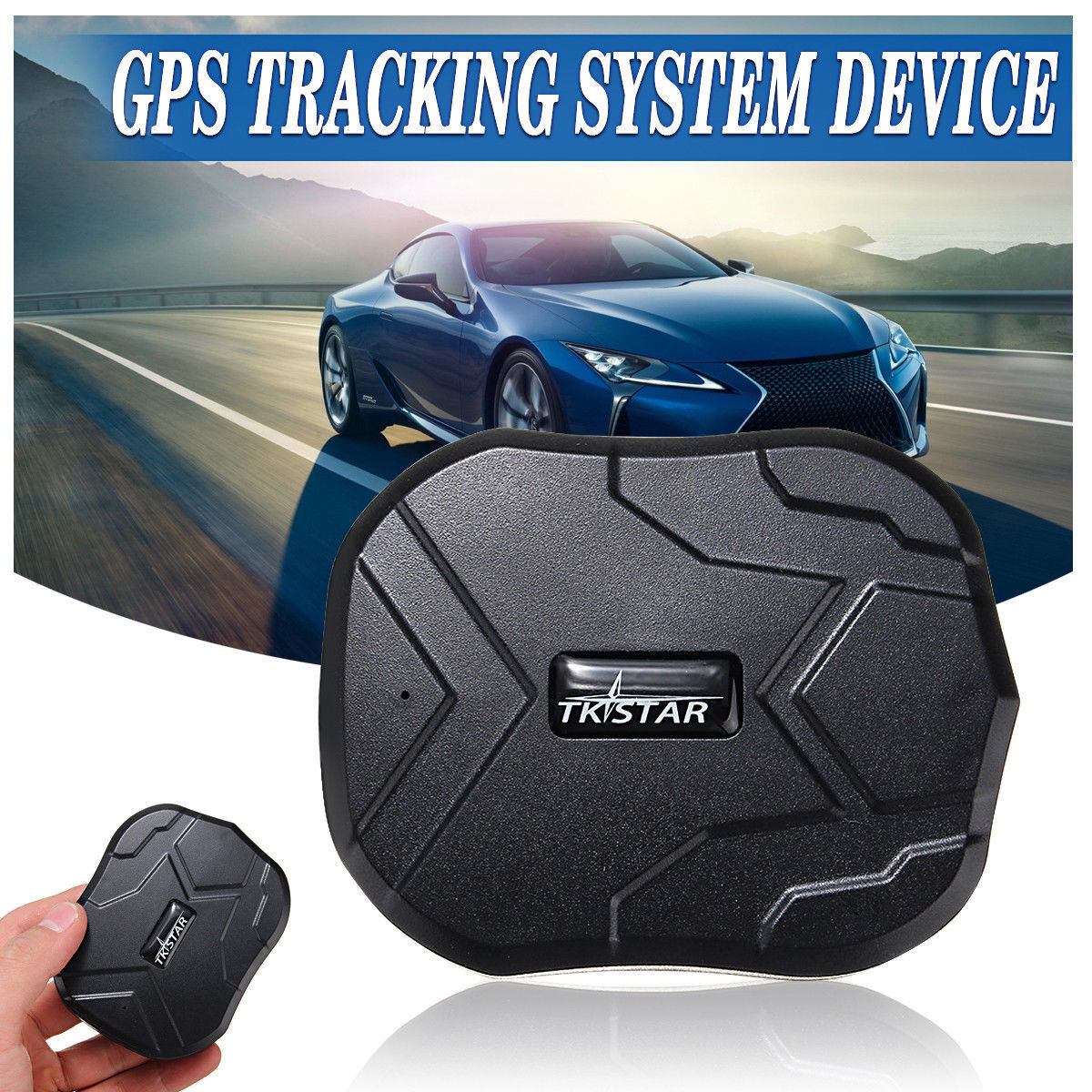 TKSTAR Tk905 GPS Car Tracking Device Powerful Magnet Vehicle
