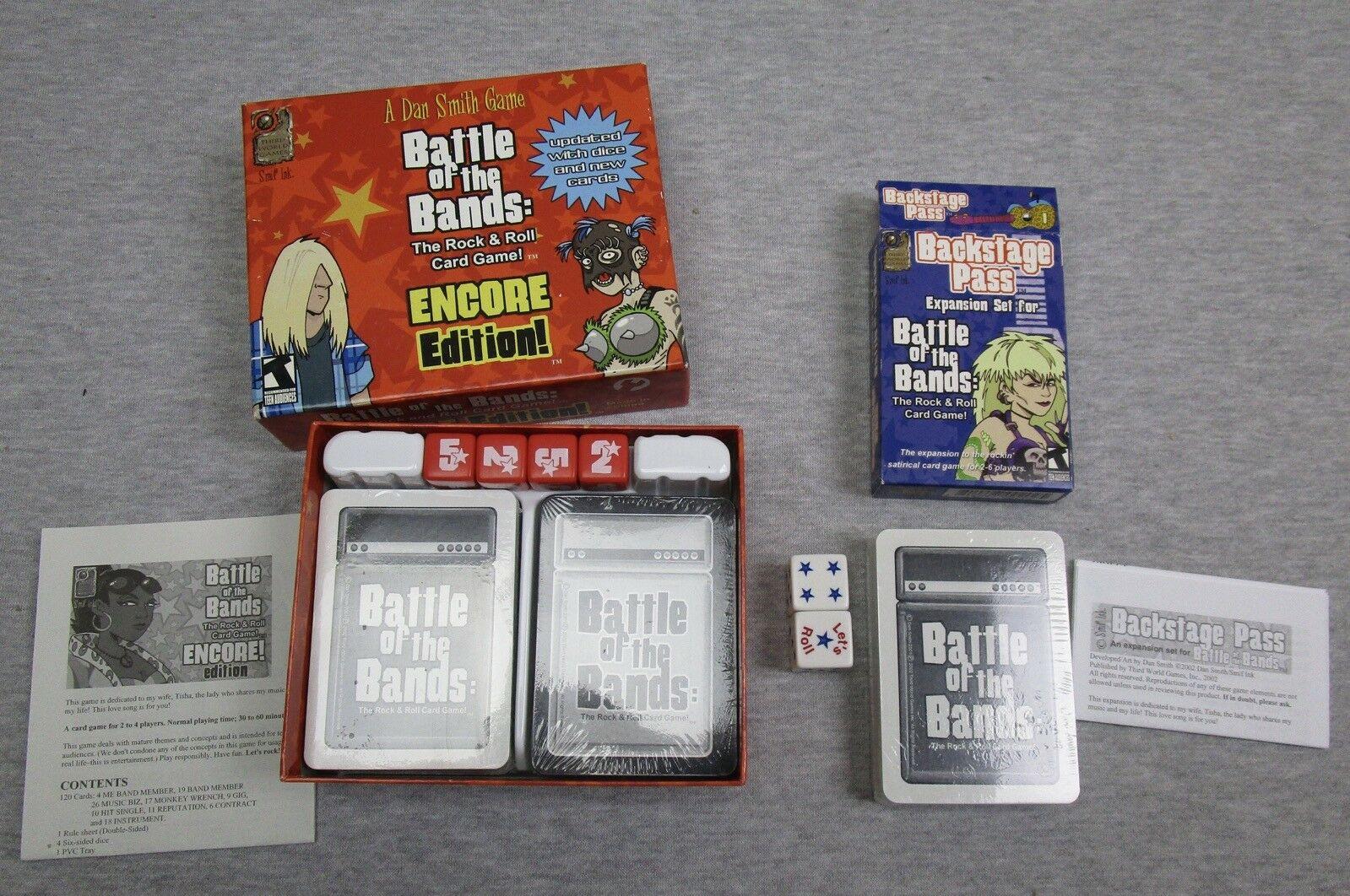 Korea Board Games Tichu Deluxe Family Card Game Expansion Blue Color Edition
