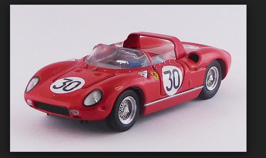 FERRARI 250 P 12H Sebring 1963 - Surtees   Scarfiotti 1 43 ART119 2