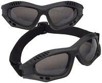 Us Usmc Army Military Marines Airsoft Black Ventec Tac Tactical Goggles Adjust on sale