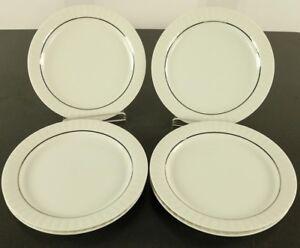 6-x-Kuchen-Teller-Thomas-Porzellan-Service-Lanzette-Platinband-18-5-cm