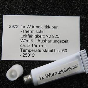 Waermeleitkleber-5g-Kleber-CPU-IC-LED-RAM-Paste-Waermeleitfaehig-Kuehlkoerper-Thermal