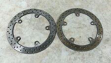 04 BMW R 1150 RT R1150 R1150rt front brake rotors disks