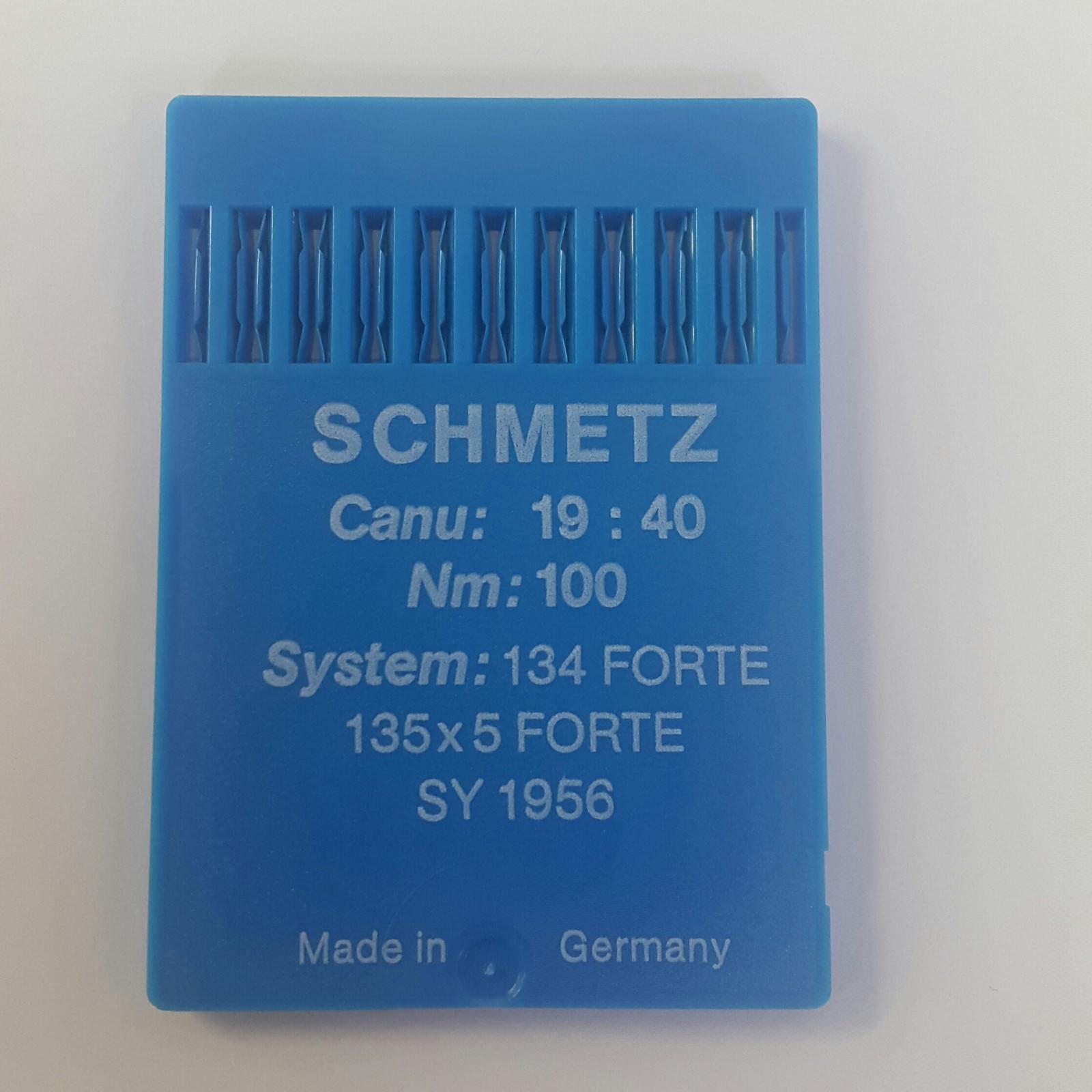 30 Stk Schmetz Nähmaschinen Nadeln Needle NM 100 System 134-35 VR