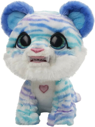 Sound and 35 FurReal North The Sabertooth Kitty Interactive Plush Pet Toy