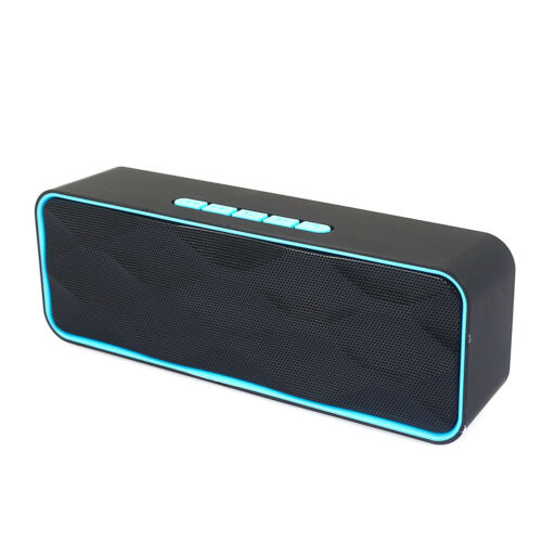 068C Waterproof TF Card Dual Driver Multifunction Bluetooth Speakers Outdoor