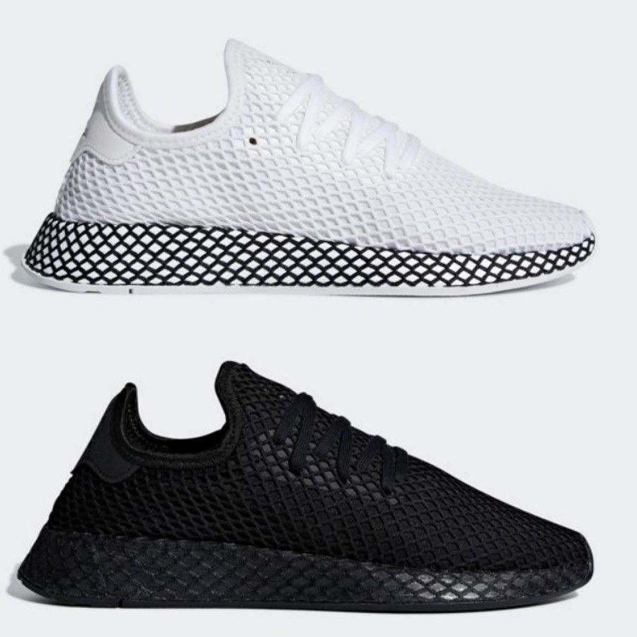 Adidas Originals Deerupt Runner shoes B41767 B41768 SIZE 4-13 White Black