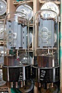 2pcs 6P3S / 6L6 / 6L6GT / 6L6GC / 5881 TUBES NOS Reflektor one DATE 02.1974 OTK