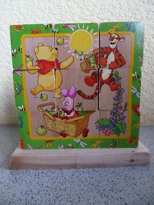 Disney Eichhorn Würfel Puzzle Zum Stecken * 9 Würfel * Winnie Pooh *