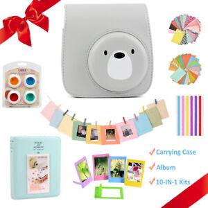 Cover Fai Da Te.Dettagli Su Per Fujifilm Instax 8 9 Instant Mini Film Camera Bag Custodia Cover Album Kit Fai Da Te Mostra Il Titolo Originale