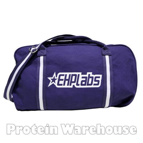EHP Labs Duffle Sac de Sport Gym Sac de voyage Training Homme ou Femme Sac De Kit Bleu