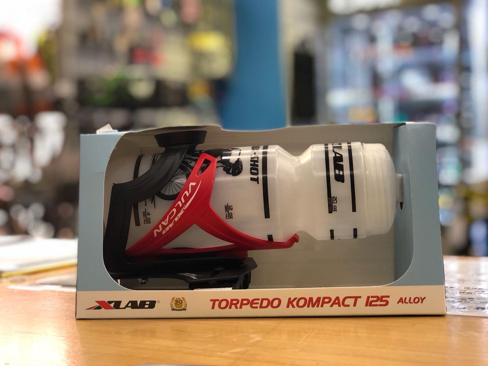 Xlab Torpedo Kompact 125 Aero Bar Mount + Jaula + Botella (rojo)  2708
