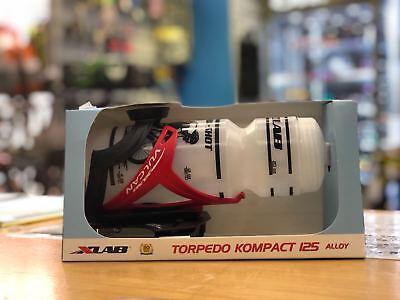 #2644 Black XLab Torpedo Kompact 125 Aero bar Mount+Cage+Bottle