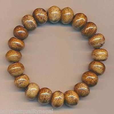 Armband braun Knochen Schmuck Bangle Pulsera Tibet 90b
