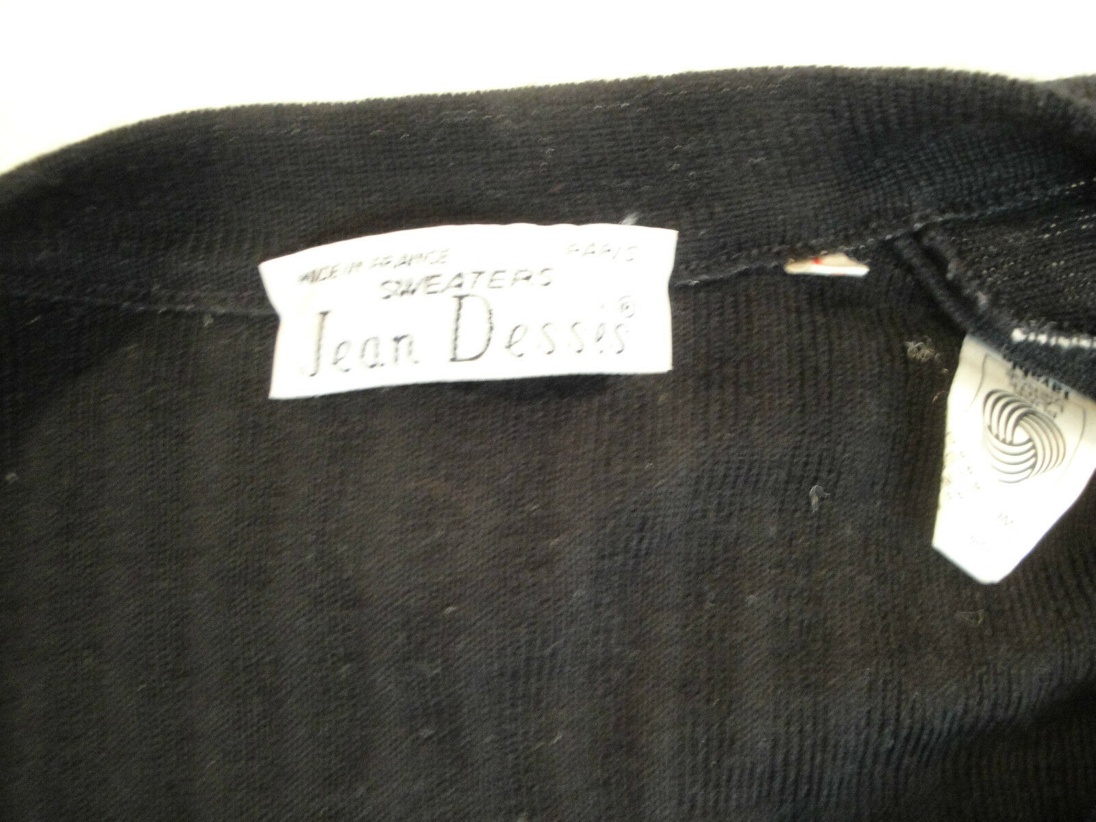 OMG  JEAN DESSES Wool Cardigan Sweaterfrom Sweaterfrom Sweaterfrom Ready to Wear Line 579ac4