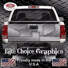 Airplane Metal Truck Tailgate Wrap Vinyl Graphic Decal Sticker Wrap