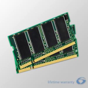 "2x1GB 2GB Kit Memory RAM Upgrade for Apple PowerBook G4 17/"" A1013"