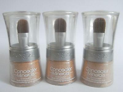 3 X Loreal Concealer Minerals Nr.  30 Beige Puder Hautunebenheiten Abdeckung neu
