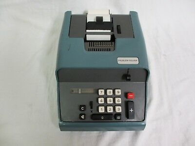 Problem Solver Vintage Calculator 10 key Adding Machine | eBay