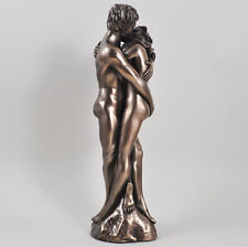 "Man Women ""As One"" Cold Cast Bronze Sculpture Erotic Art by Love Is Blue"