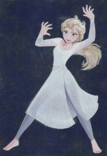 2019 PANINI carte 55-Disney Frozen la reine 2 cartes de collection série