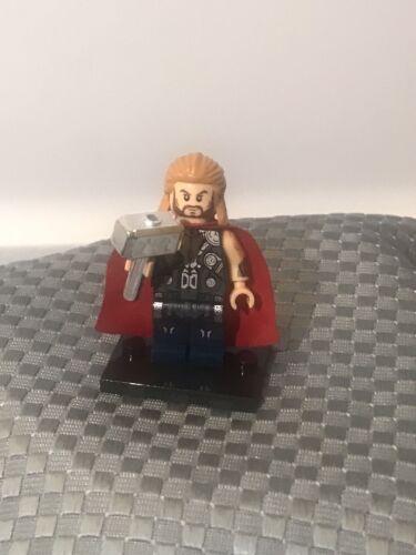Custom Minifigure Marvel Avengers Thor Superhero ARRIVES IN 2-4 DAYS