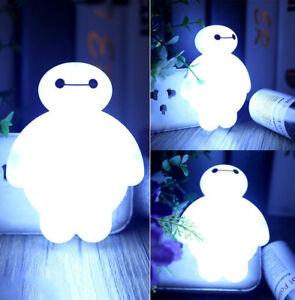 Bay-Max-Sensor-LED-Night-Lights-Bulbs-Energy-Saving-Lamps-Home-Kids-Gifts