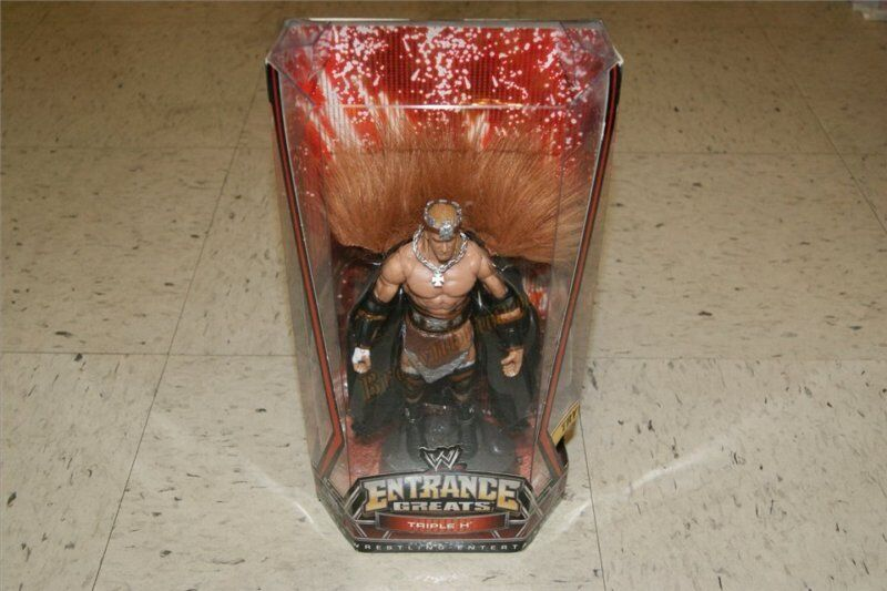 WWE HHH WrestleMania 22 Entrance Greats 8  Figure TRIPLE H New