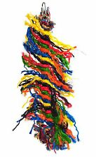 Happy Pet Parrot Plucker toy - rope, chewing, shredding, stops boredom