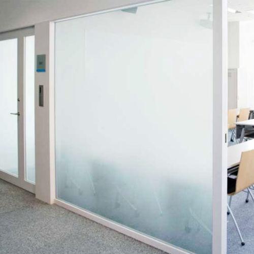 Weiß Frost Privatsphäre Fenster Folie Matt Opal Opal Opal Etch Tönung Glas Vinyl |   16231d
