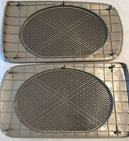Toyota Camry Beige Replacement Rear Speaker Grille Covers 2002-2006
