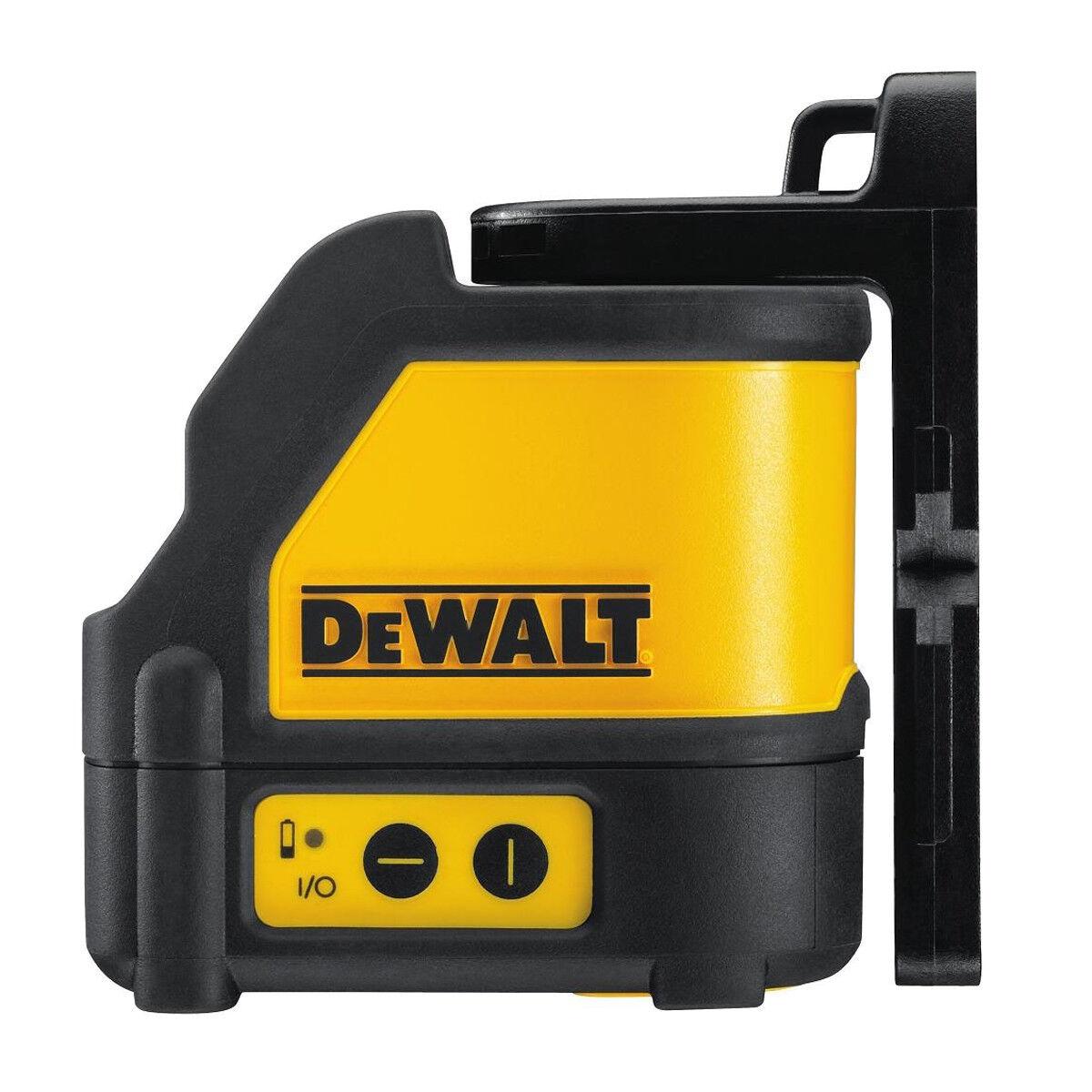 DeWALT Kreuzlinien-Laser DW088KD-XJ mit Detektor im Set im Transportkoffer